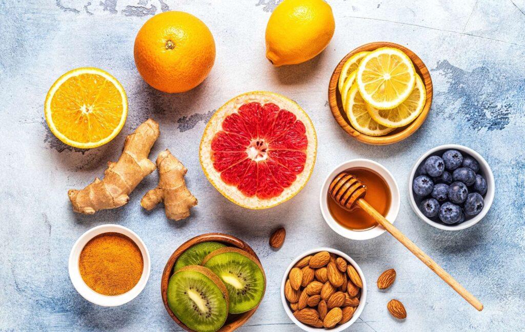 Wzmacnianie odporności poprzez jedzenie