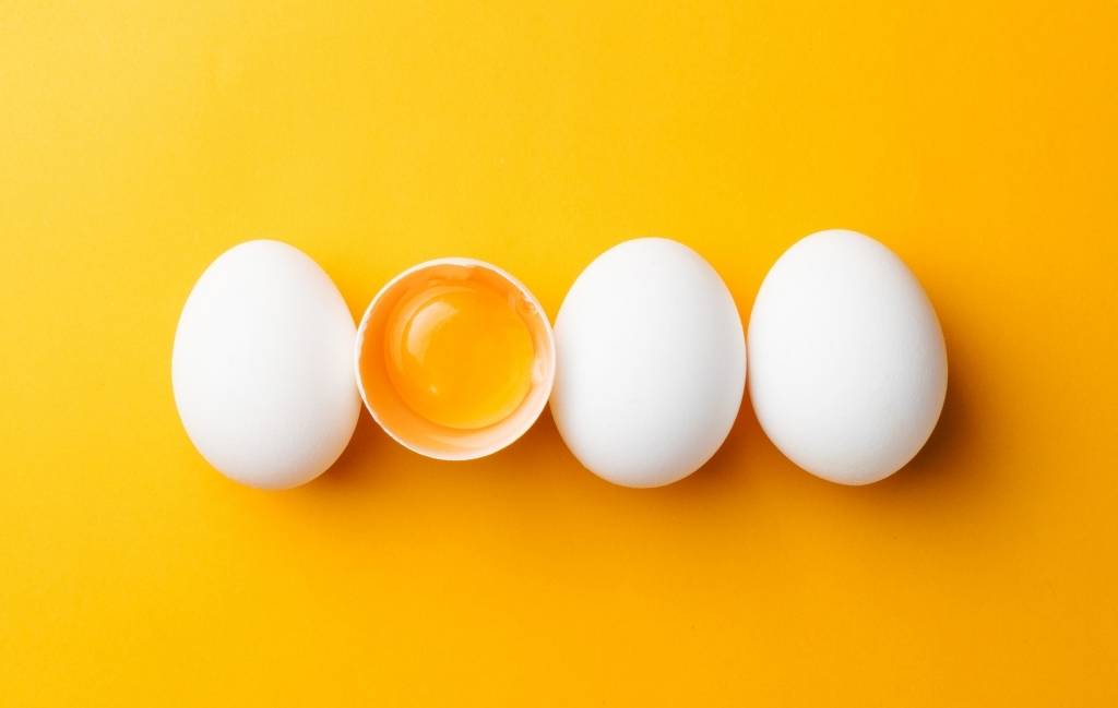 Food sources of choline - eggs